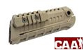 CAA Airsoft Nylon Fiber M4S1 Handguard Rail System (Dark Earth)
