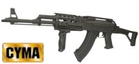 CYMA Metal AK47 Tactical Rifle AEG w/ folded stock (CM.039U, BK)