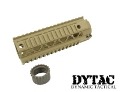 "DYTAC Metal Invader Rail System 7.2"" for M4 (Dark Earth)"