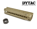 "DYTAC Metal Invader Rail System 9"" for M4 (Dark Earth)"