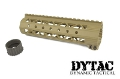 "DYTAC Metal Invader Lite Rail System 7.6"" for M4 (Dark Earth)"