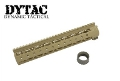 "DYTAC Metal Invader Lite Rail System 11"" for M4 (Dark Earth)"