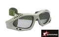 EAIMING Airsoft  No Fog Metal Mesh Goggle Glasses – Olive Drab