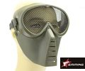 EAIMING Airsoft Full Face No Fog Metal Mesh Mask – Olive Drab