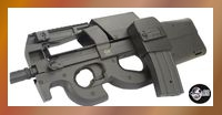 Jing Gong P98 SMG with Magazine Drum (P98-1, Black)