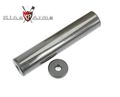 King Arms Carbon Fiber Silencer (200mm Long ; 14mm +/- )