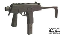 KSC Polymer Frame MP9 GBB SMG System 7 Version (Black)