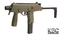 KSC Polymer Frame MP9 GBB SMG System 7 Version (Ranger Green)