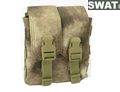 SWAT 1000D CORDURA MOLLE的弹药袋(A-TACS)