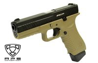APS Metal Slide Action Combat Pistol (ACP) CO2 GBB (Dark Earth)