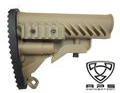 APS Battle Tele Style Stock for M4/M16 AEG (Dark Earth)
