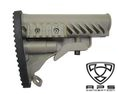 APS Battle Tele Style Stock for M4/M16 AEG (Foliage Green)