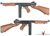 King Arms Metal Thompson M1A1 Military SMG AEG Ultra Grade