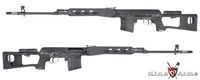 King Arms Kalashnikov SVD Sniper Rifle AEG Ultra Grade (Black)