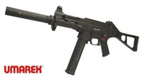 UMAREX Polymer H&K Licensed UMP SMG GBB (DX Version, Black)