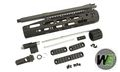 WE Metal RAPTOR Adaptive Rail System for WE M4 AEG Series (BK)