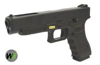 WE Metal Slide G34 GBB Pistol (Black)