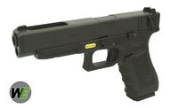 WE Metal Slide G35 GBB Pistol Full Auto + Gen 4 Frame Ver. (BK)