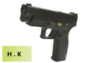 HK3 Metal Slide XDM .40 4.5 GBB Pistol with marking (Black)