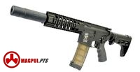 Magpul PTS Metal Silent Aggressor Assault Rifle AEG (Black)