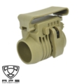 APS Weapon Flashlight Mount with Belt Clip (Foliage Green)