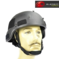 Element MICH 2000 Helmet w/NVG Mount Black (G018)
