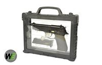 WE Metal New System M9 GBB Pistol Semi&Auto Ver (w/ Case, Black)