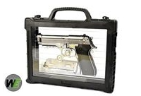WE Metal New System M9 GBB Pistol Semi&Auto Ver (w/ Case, SV)