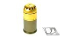 Classic Army Metal 72rds 40mm Gas Grenade Shell (Gold)