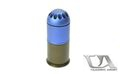 Classic Army Metal 96rds 40mm Gas Grenade Shell (Blue)