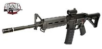 G&P Metal WOC M4A1 MOE Carbine GBB (Black)