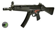 WE Stamped Steel Frame APACHE A2 SMG GBB (M5A4, Black)