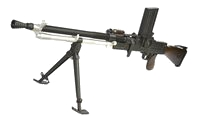 Metal & Real Wood Stock ZB26 Light Machine Gun AEG