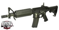 G&P Metal WOC M4 CQBR Assault Rifle GBB (Black)