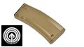 SOCOM Gear Licenced Troy Battle Mag 190rds Mid-cap Mag (Tan)