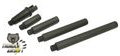 Thunder Airsoft CNC Aluminum Outer Barrel Set for M4 AEG (Black)