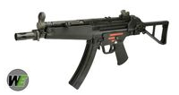 WE Stamped Steel Frame APACHE A2 PDW SMG GBB w/Folded Stock (BK)