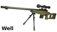 WELL MB4409D Air-cocking Sniper Rifle w/ Scope & Bipod (OD)