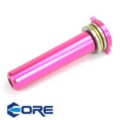 Core CNC Aluminium Spring Guide for Version 2 gearbox (Purple)