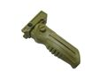 Fold Up 20mm Rail Military Tactical RIS Vertical ForeGrip -CB