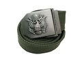 US Bald Eagle SEAL Full Metal Buckle Nylon Belt - OD