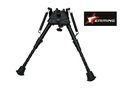 eAiming Metal 5 Level Spring Eject Bipod - BK