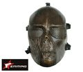 eAiming Skeleton ARMY OF TWO Plastic Full Face Mask - COPPER