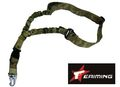 "EAIMING Elastic Cord 1.5""QR Single point Rifle Sling Multicam"