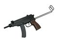 Double Eagle Vz61 SCORPION Spring Pistol (Extend stock ;M37F)