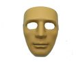 Human Man Full Face Hard Plastic Mask - CB