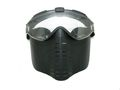 Full Face Goggle Mask with Mini Fan -Black