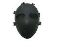 Killer Tactical Reticular Full Face Hard Plastic Mask - Black