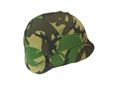 UK Woodland Camouflage Troops M88 Helmet Cover -UK Woodland Camo
