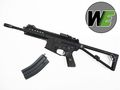 WE PDW M4 Gas Blow back Airsoft Rifle -BK